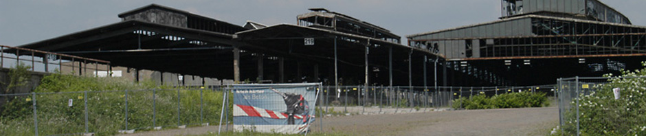 Alter Güterbahnhof, Hallen, Foto: Petra Grünendahl