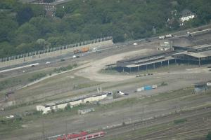 Gelände vom Alten Güterbahnhof. Foto: Petra Grünendahl.