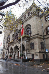 Duisburger Rathaus am Burgplatz