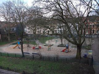 Spielplatz an der Fauststraße in Meiderich