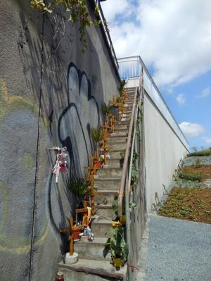 Loveparade-Gedenkstätte zum dritten Jahrettag 2013. Foto: Petra Grünendahl.