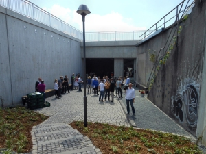 Gedenkstsätte für die Opfer der Loveparade 2010. Foto: Petra Grünendahl.