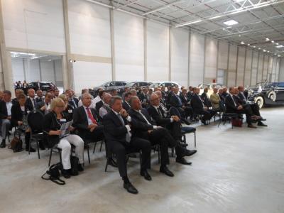Eröffnung des Audi-Logistikzentrums im Logport II Wanheim-Angerhausen