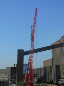 Konverterumbau im Oxygenstahlwerk 1 Bruckhausen bei ThyssenKrupp Steel Europe Hamborn