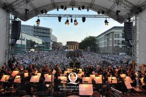 Klassik Open Air: Die Premiere zum Theaterjubiläum 2012. Foto: Frank Heller.