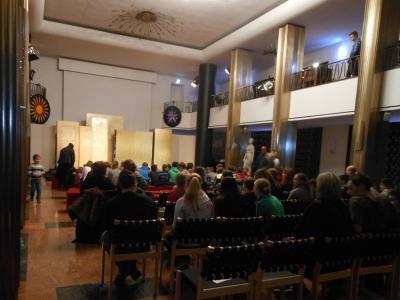 Zauberflöte für Kinder im Opernfoyer vom Theater Duisburg