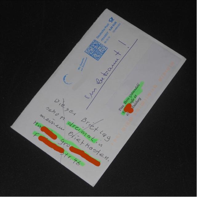 Irrläufer Weihnachtskarte