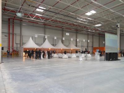 Einweihung des neuen Logistikkomplexes von Volkswagen