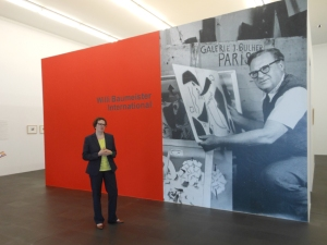 "Avantgarde-Sonderausstellung ""Willi Baumeister International"" im MKM Museum Küppersmühle Foto: Petra Grünendahl,"