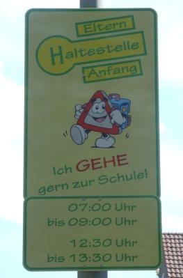 Vorstellung der Elternhaltestelle an der GGS Albert-Schweitzer-Straße
