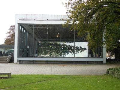 Ein Blickfang im Kantpark. Foto: Petra Grünendahl.