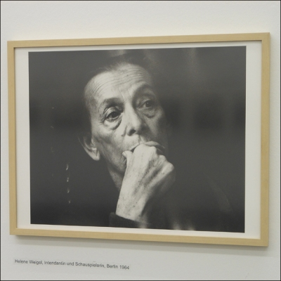 Barbara Klemms Protrait von Helene Weigel. Foto: Petra Grünendahl.