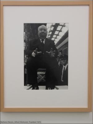 Barbara Klemms Alfred Hitchcock. Foto: Petra Grünendahl.