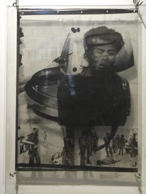 "Wolf Vostells ""Street Corner Execution"" (1971). Fotos. Petra Grünendahl."
