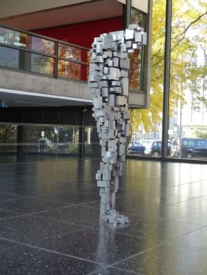 "Antony Gormley: ""Loss"". Foto: Petra Grünendahl."