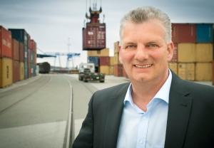 Jens Briese, Geschäftsführer der DeltaPort GmbH & Co. KG in Wesel. Foto: DeltaPort.