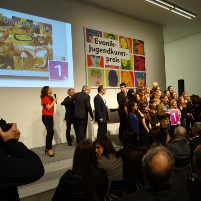Gewinner des Jugendkunstpreises 2014: das Albert-Einstein-Gymnasium aus Frankenthal. Foto: Petra Grünendahl.