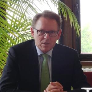 Haniel-Vorstandsvorsitzender Stephan Gemkow. Foto: Petra Grünendahl.