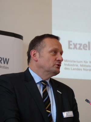Dr. Christoph Kösters, Hauptgeschäftsführer des Verbandes Verkehrswirtschaft und Logistik NRW (VVWL). Foto: Petra Grünendahl.