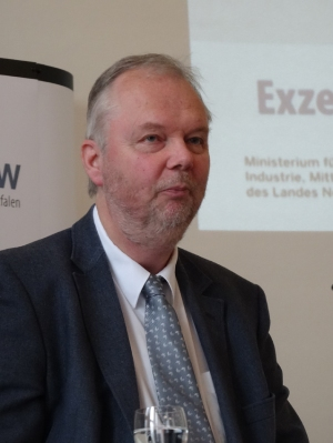 Hans Martin Müller, Ministerialrat im Ministerium für Bauen, Wohnen, Stadtentwicklung und Verkehr des Landes NRW. Foto: Petra Grünendahl.