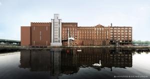Erweiterung des MKM Museum Küppersmühle für Moderne Kunst im Duisburger Innenhafen. Foto: © Herzog & de Meuron.