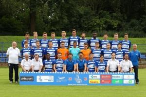 """Die """"U19""""-Mannschaft des MSV Duisburg. Foto: MSV."""
