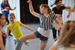 Tanzwerkstatt für Jugendliche. Foto: Deutsche Oper am Rhein.