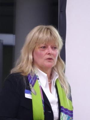 Jutta Stolle, Direktorin Gesellschafter und Nachhaltigkeit bei Haniel. Foto: Petra Grünendahl.