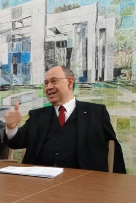 Dr. h. c. Nikolaus Schneider, ehemaliger Ratsvorsitzender der Evangelischen Kirche in Deutschland. Foto: Petra Grünendahl.