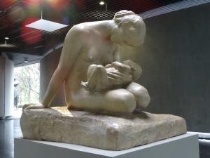 Ein Lieblingsmotiv von Wilhelm Lehmbruck: Mutter und Kind. Foto: Petra Grünendahl.
