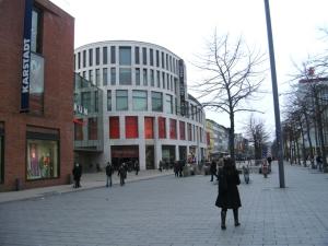 Königstraße in der Duisburger Innenstadt. Foto: Petra Grünendahl.