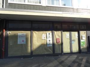 Leerstände in der Fußgängerzone Fußgängerzone Fischerstraße in Wanheimerort. Foto: Petra Grünendahl,