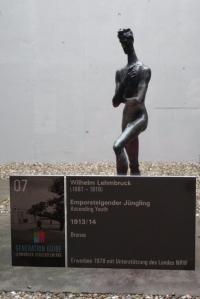 Emporsteigender Jüngling (1913/14) ovn Wilhelm Lehmbruck. Foto: Petra Grünendahl.