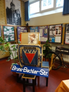 Nach ihm würde die VVN/BdA Duisburg gerne eine Straße benennen: Bruno Bachler berichtete bis zu seinem Tod als Zeitzeuge vom Widerstand gegen den Faschismus. Foto: Petra Grünendahl.
