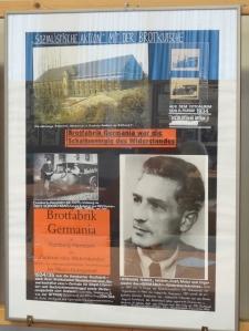 Schaltzentrale des Widerstandes: die Brotfabrik Germania in Hamborn. Foto: Petra Grünendahl.