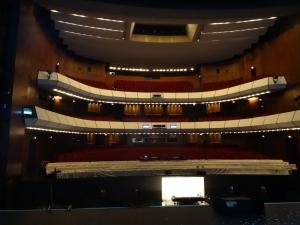 Besucherraum im Theater Duisburg. Foto: Petra Grünendahl,
