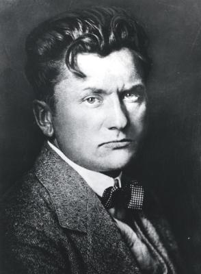 Der 37-jährige Wilhelm Lehmbruck, Foto: Lehmbruck Museum Duisburg.