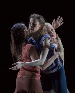Boris Randzio: Mindrift – Christine Jaroszewski, Virginia Segarra Vidal, Anne Marchand. Foto: Gert Weigelt.