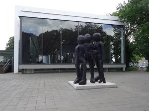 """On Surface - An der Oberfläche: Georg Baselitz' """"BDM Gruppe"""" (2012). Foto: Petra Grünendahl."""