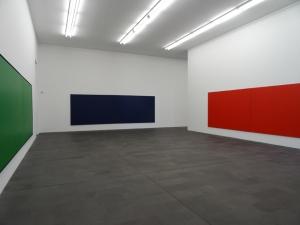 Rolf-Gunter Dienst: Mein Gedicht heißt Farbe im MKM Museum Küppersmühle für Moderne Kunst in Duisburg. Foto: Petra Grünendahl,