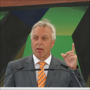Erich Staake, Vorstandsvorsitzender der Duisburger Hafen AG. Foto: Petra Grünendahl.