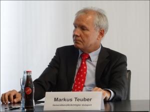 Markus Teuber, Generalbevollmächtigter der Duisburger Hafen AG. Foto: Petra Grünendahl.