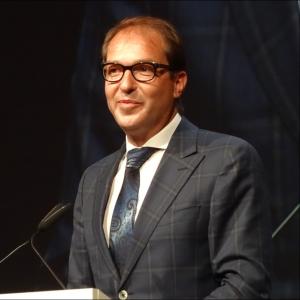 Bundesverkehrsminister Alexander Dobrindt beim Festakt zum 300-jährigen Hafenjubiläum. Foto: Petra Grünendahl.