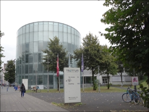 Das Tectrum in Neudorf. Foto: Petra Grünendahl.