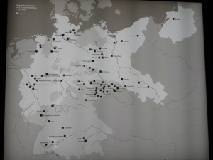 Konzentrations- und Strafgefangenenlager in Deutschland 1933 - 1935. Foto: Petra Grünendahl.