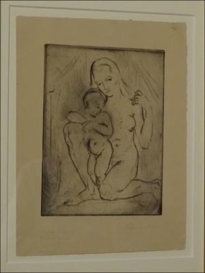 Mutter und Kind (1910). Foto: Petra Grünendahl.