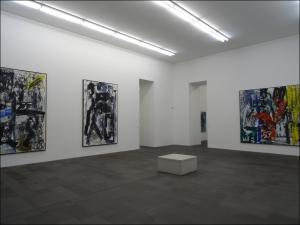 Großformatige Werke aus den 1980-er Jahren: Emilio Vedova. Foto: Petra Grünendahl.