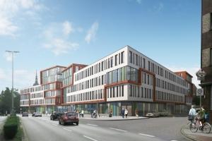 Marientor Quartier. Entwurf: HOFF und Partner.