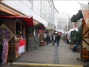 Weihnachtlicher Wintermarkt in der Duisburger Altstadt. Foto: Petra Grünendahl.