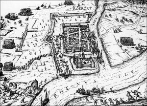 Ruhrort. im Jahr 1587.
